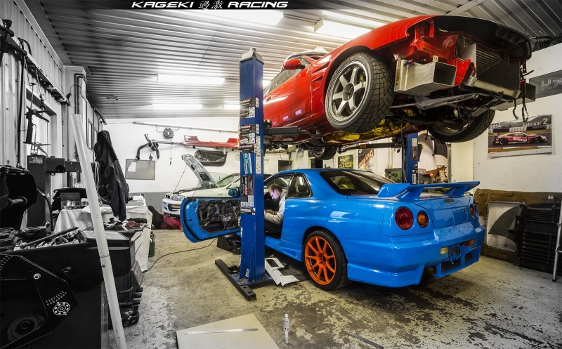 Lhd Nissan Skyline R34 Gtt Kageki Racing Expensive